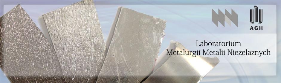 Laboratorium Metalurgii Metali Nieżelaznych